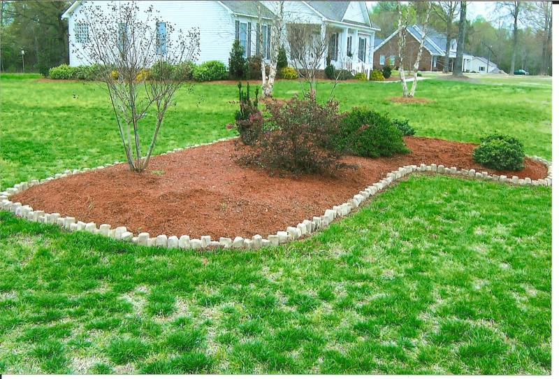 Cheap Landscaping Ideas Photograph | Cheap Landscaping Borde